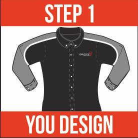 Step 1 - You design your uniform