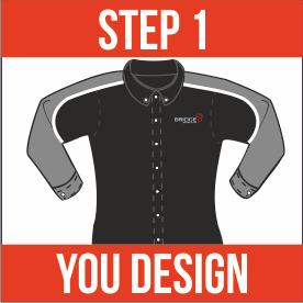 Step 1 - You design your uniform